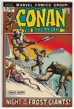 CONAN THE BARBARIAN #16 BARRY WINDSOR-SMITH, FROST GIANTS This 1 needs CGC ed