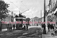 SU 72 - Tram Terminus, Sutton, Surrey - 6x4 Photo