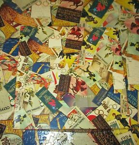 Vintage 1996 Olympic Games Posters Springbok Jigsaw Puzzle 500 Pieces Complete