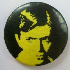 David Bowie 1970/80s Original Vintage Pin Badge British Ziggy Stardust Glam Rock