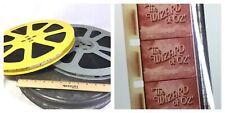 16mm Wizard of OZ Movie cine 2 reel vintage feature film w titles