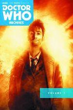 DOCTOR WHO ARCHIVES: 10TH DOCTOR OMNIBUS VOL #1 TPB Titan Sci-Fi BBC Comics TP