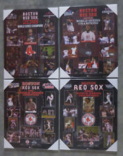 Set of 4 Boston Red Sox World Series Championship Picture Plaques 2018,13,07,04
