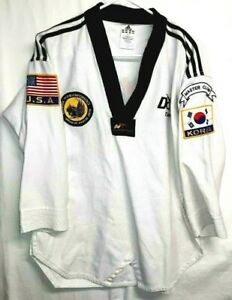 "Adidas World Taekwondo Fed ""Sr. Instructor"" DOMA Master Club Uniform-Size 160cm"