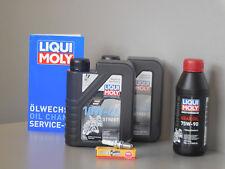 Sistema de mantenimiento APRILIA LEONARDO 250 Filtro de aceite bujía Inspección