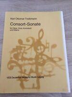 Consort - Sonate Für Oboe, Viola, Kontrabass Und Gitarre
