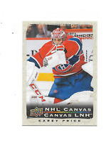 2020-21 UD Tim Hortons NHL Canvas #C11 Carey Price Montreal Canadiens