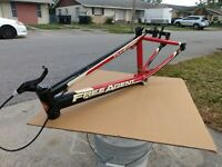 """FREE AGENT Team Expert  BMX 20""""  Frame 19.5 TT 6061 ultralite Tubing / gt haro"""