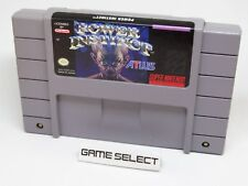 POWER INSTINCT SUPER NINTENDO SNES NES NTSC US USA AMERICANO CARTUCCIA ORIGINALE