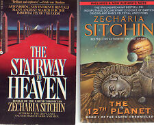 Complete Set Series Lot of 10 Earth Chronicles Zecharia Sitchin Origin of Man PB
