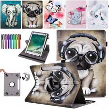 For Huawei MediaPad M2 M3 M5 M6 T2 T3 T5 Leather Stand 360 Rotating Case Cover