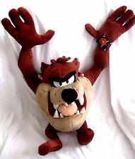 "Tazmanian Devil Taz Looney Tunes Mighty Star 24"" Stuffed Toy Warner Bros-New!!"