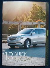 Prospekt brochure 2013 Buick Enclave (Estados Unidos)