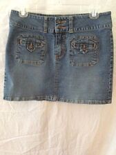 Roxy Jean Skirt ~ JR. 5 ~ Mini ~ Super Condition