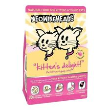 Meowing Heads Kitten's Delight Dry Cat Food, Chicken Fish & Egg 250g