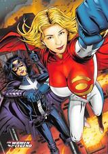 HUNTRESS & POWER GIRL / DC Comics The Women of Legend BASE Trading Card #57