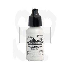 Ranger Tim Holtz Alcohol Ink OPAQUE Mixative  SNOW CAP White