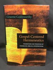 Gospel-Centered Hermeneutics Graeme Goldsworthy Commentary Biblical Theology