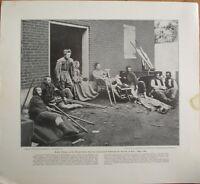 Civil War Photographic History 1910 Print: US Sanitary Commission Women of 1864