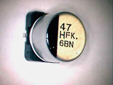 lot de 10 condensateurs CMS 47 µf / 16 v