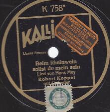 Robert Koppel singt Fred Raymond  : Ich hab mein Herz in Heidelberg verloren