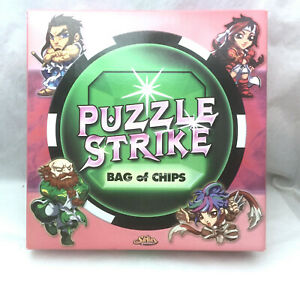 Puzzle Strike Bag of Chips Sirlin Games COMPLETE - Wood Chip Edition Model PS-R-
