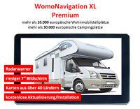 Navi fürs Wohnmobil, 7 Zoll, Europa, GPS, WomoNavigation XL, Navigationsgerät
