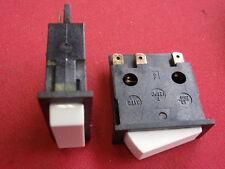 3x 230V  WIPPSCHALTER sw/ws  m. MITTEL-STELLUNG 12A max. RAHMEN 37x15mm 23934