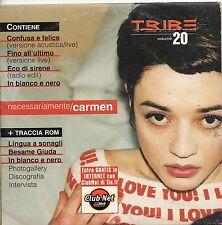 CARMEN CONSOLI CD single PROMO TRIBE 4 tracce NECESSARIAMENTE 2000 sigillato