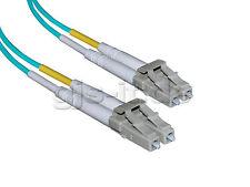 LWL Glasfaserkabel Patchkabel LC-LC Duplex Multimode 50/125µ OM3 50m Neu
