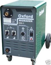 OXFORD MIGMAKER 180-1 MIG WELDER - Built in the UK, SHOP SOILED NEW MACHINE