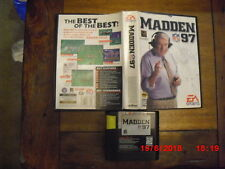 Madden Nfl 97 (Sega Genesis, 1996) tested!