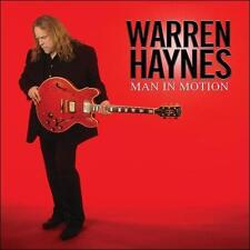 WARREN HAYNES MAN IN MOTION RARE CD 2 BONUS TRACKS ALLMAN BROTHERS GOV'T MULE