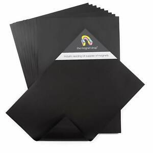 10 A4 Magnetic Sheets 0.4mm for Crafts & Spellbinder Die Storage Flexible Magnet