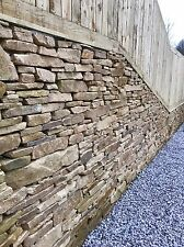 Newly Quarried Dry Stone Walling