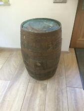 Holzfaß Whiskyfaß Faßtisch Stehtisch gebraucht Whisky Eichenfaß Tischfaß Holzfaß