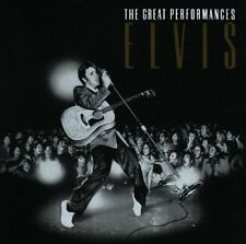 ELVIS PRESLEY - THE GREAT PERFORMANCES - COMPIL - CD ALBUM 20TITRES 1990