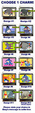 Disney Eeyore Custom Italian Charm, Choose! Pooh! Including Classic Eeyore