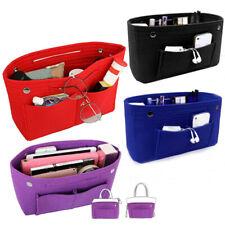 Travel Women Organizer Handbag Felt Bag Insert Liner Organiser Pouch Bag