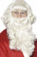 Parrucche e barbe bianca senza marca per carnevale e teatro, tema natale