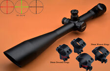 Free Ship Saxon 10-40x50 SF R/G Mil Dot Hunting Zielfernrohr Rifle Scope