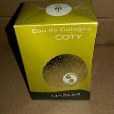 MASUMI Coty Vintage Eau de Cologne 45ml Splash, neu und in Folie Box eingedrückt