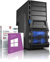 Gamer PC Computer AMD Quad A10 6790K 8GB 4GB-Radeon8670 1.5TB Windows 8.1 64-Bit