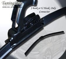 """J Hook 16"""" Inch 1 Pc Single 400mm Bracketless Windshield Wiper Blade Driver Side"""