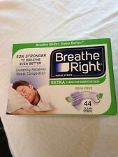 Breath Right Nasal Stripes..44 Clear Stripes