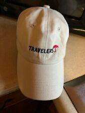VTG Baseball Cap trucker hat Travelers Insurance Red Umbrella New Unused