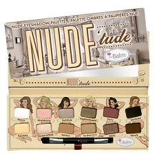 The Balm NUDE 'tude NUDE eyeshadow palette consists of 12 beautiful shadows