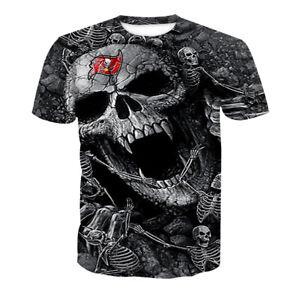 Tampa Bay Buccaneers Mens Football T-shirts Short Sleeve Shirts Casual Tee Tops