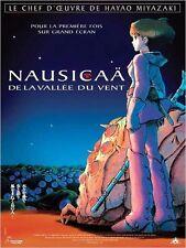 Affiche Pliée 40x60cm NAUSICAÄ DE LA VALLÉE DU VENT (2006) Hayao Miyazaki NEUVE