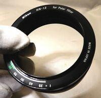 Nikon HN-12 52mm Metal Lens Hood for Polar filter Free shipping USA